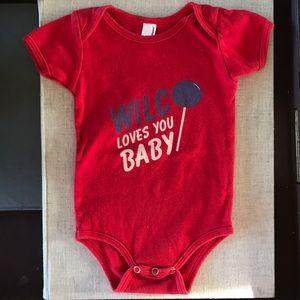 American Apparel Wilco Baby Onesie